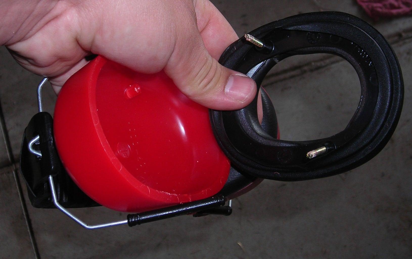 DIY Homemade Passive Noise Reducing Headphones