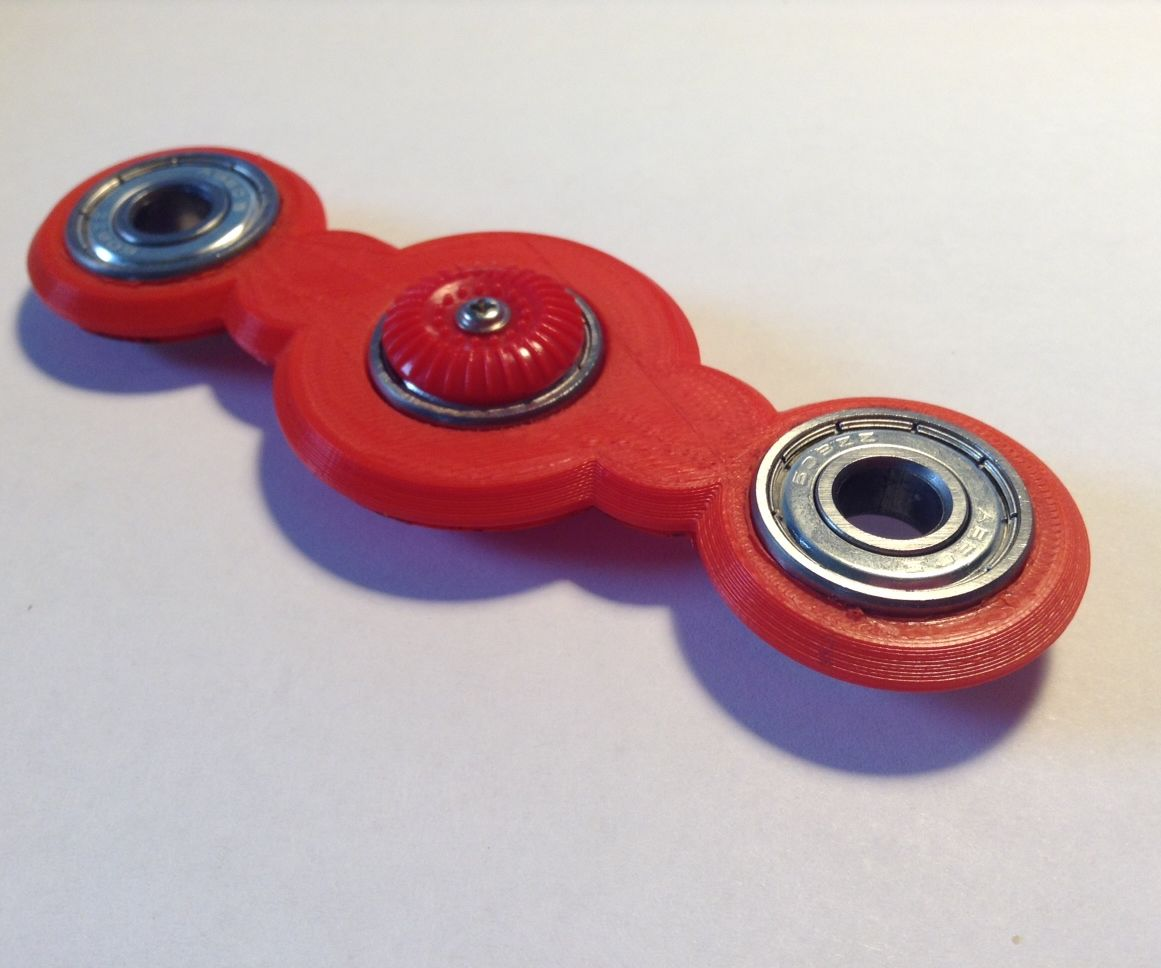 How to Make a 3D Printed Fidget Spinner.
