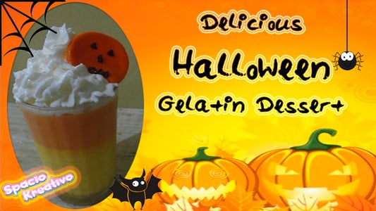 Delicious Halloween Gelatin Dessert
