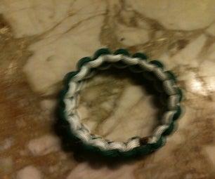 Paracord Bracelet Without Clip or Knot!