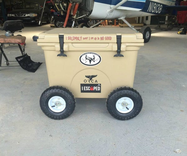 Orca or Yeti Cooler Wheels