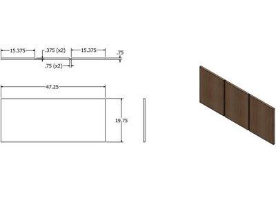 Shelf, Drawer Divider & Partitions
