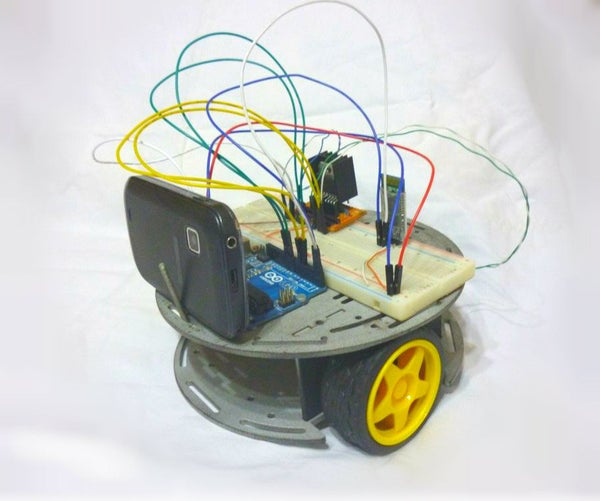 DIY Bluetooth Controlled Robot (Rover) With Live Stream Video!!