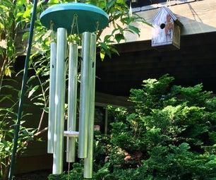 DIY Outdoor EMT Wind Chimes