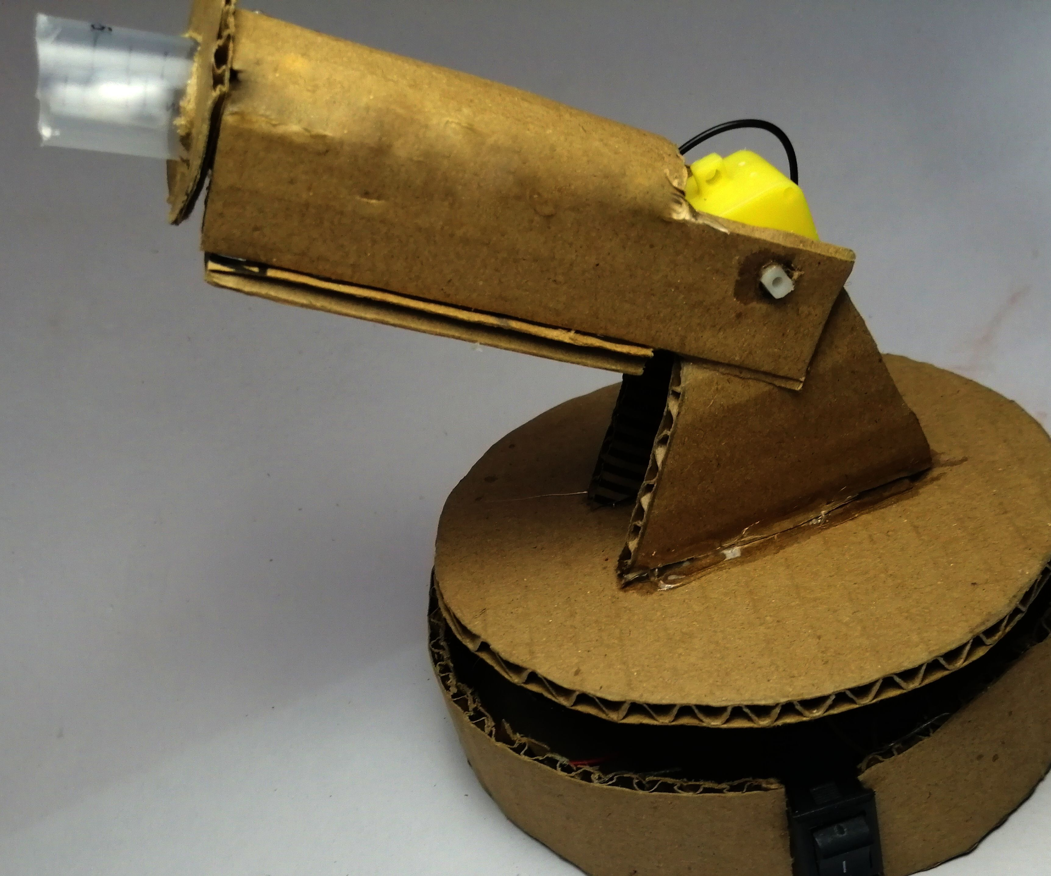 How to Make Wireless Robotic Arm With Airsoft Bullets