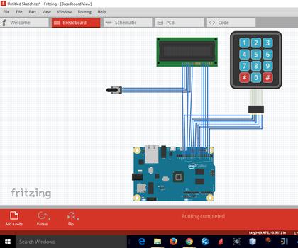 Interfacing Keypad and LCD With Intel Galileo