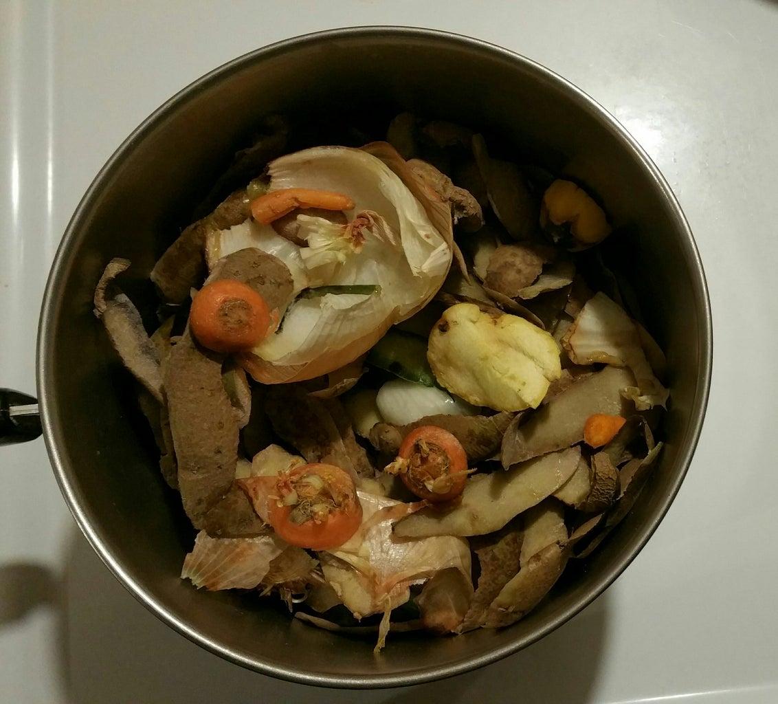Making Vegetable Broth
