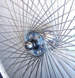 Custom twist bikewheel
