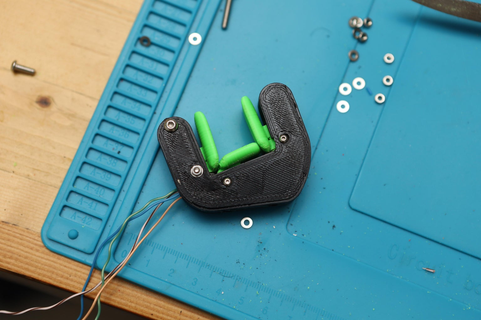 Place Your Buttons and Switches in the Holster.