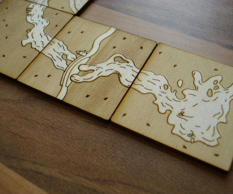 Laser Cut Board Games