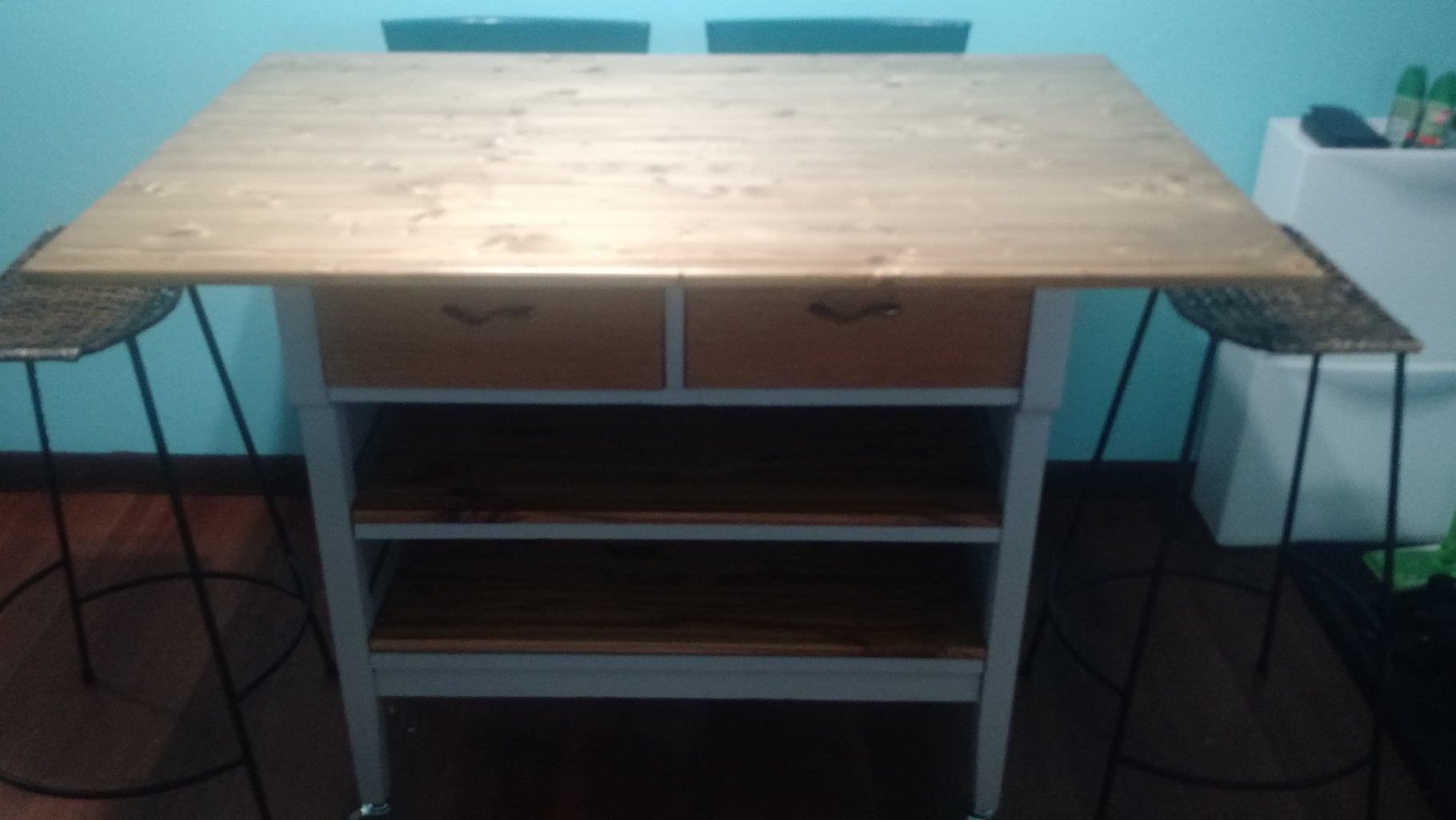 Old Dresser to Pub Table