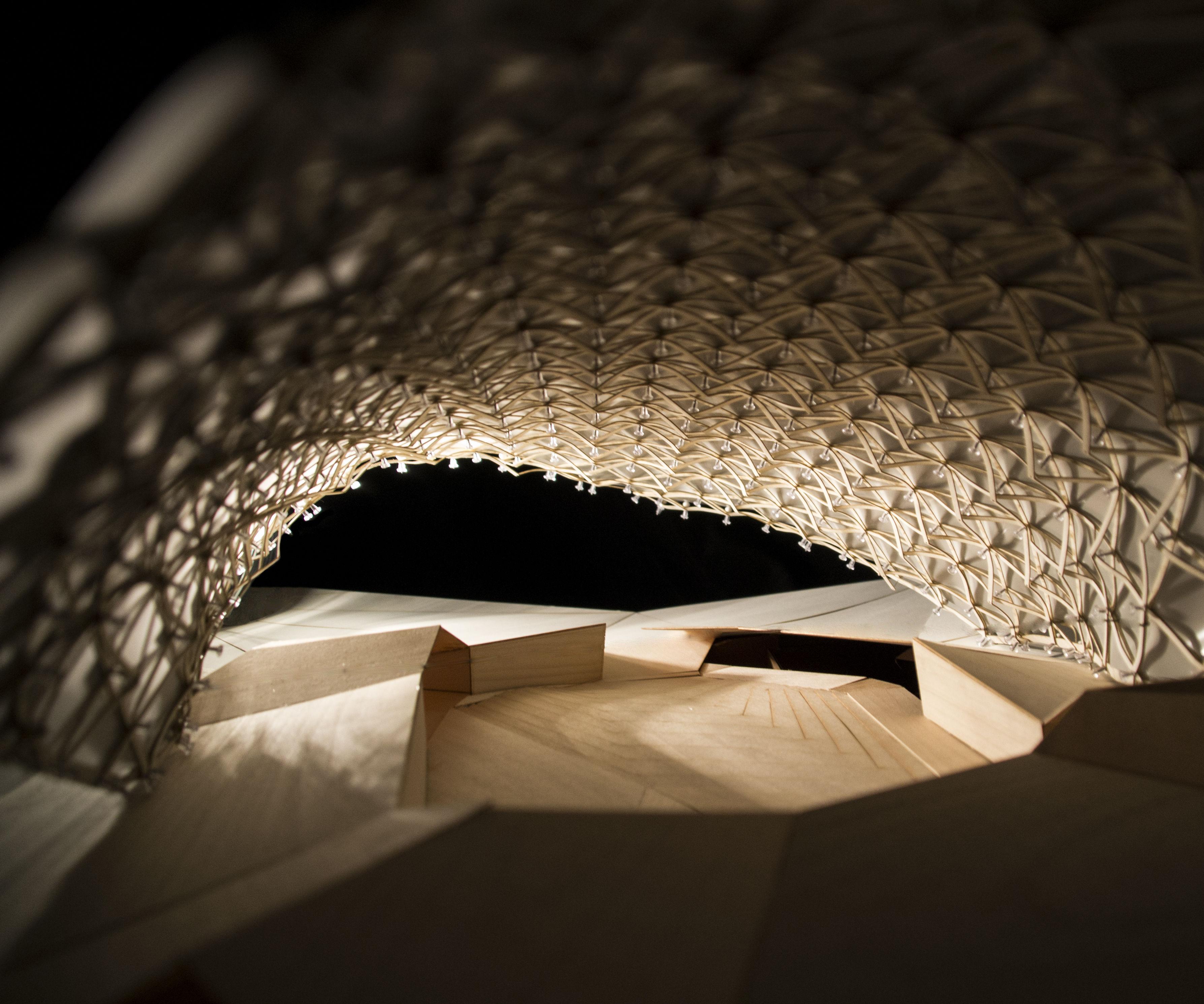 Frei Otto Next Generation Architectural Model