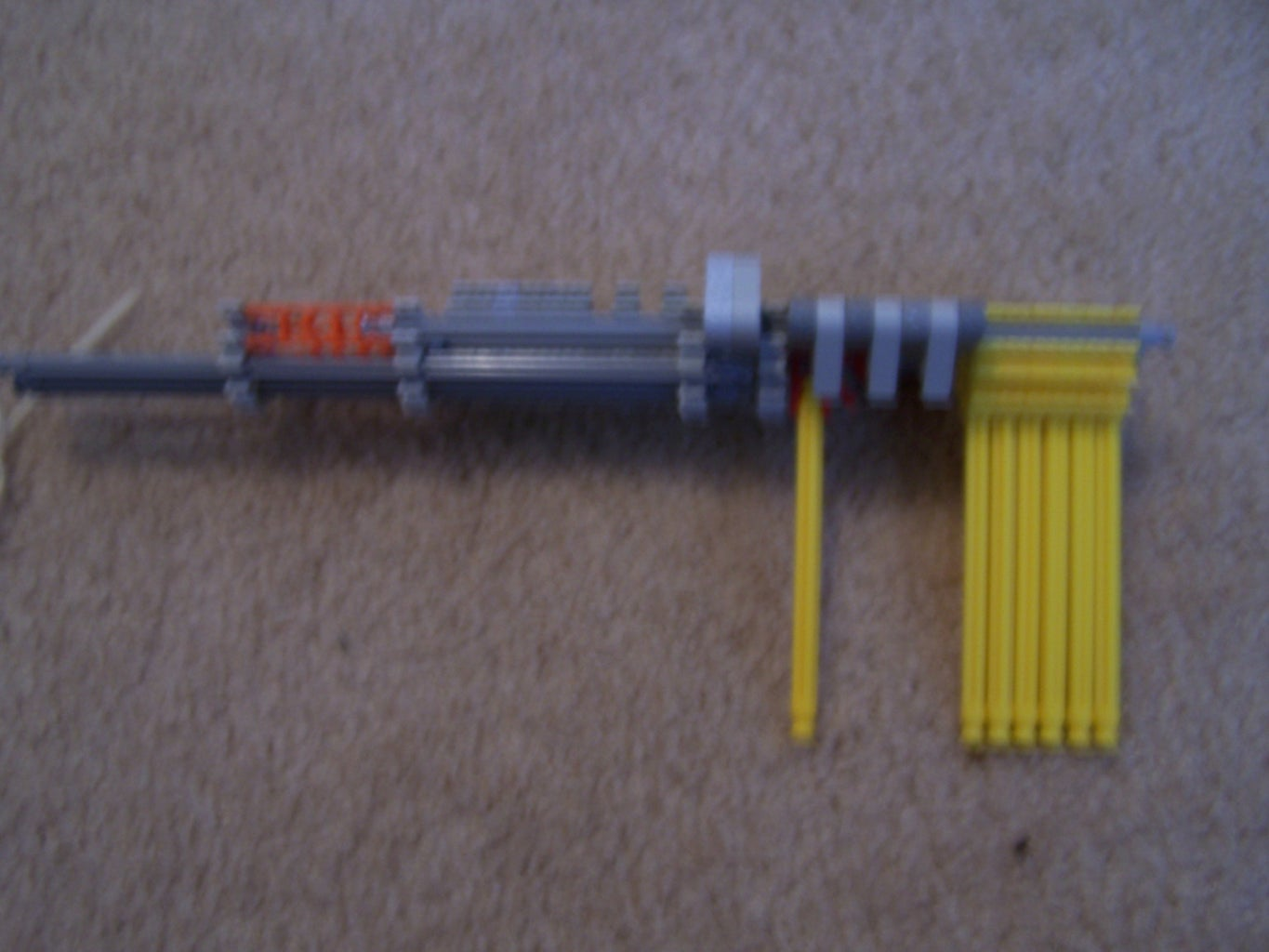 Construct Barrel and Front of Gun