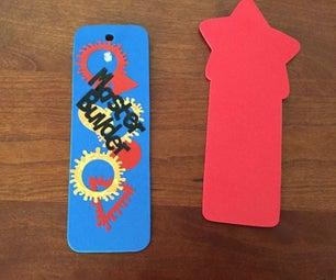 Personalizing Bookmarks With LEDs and Silhouette