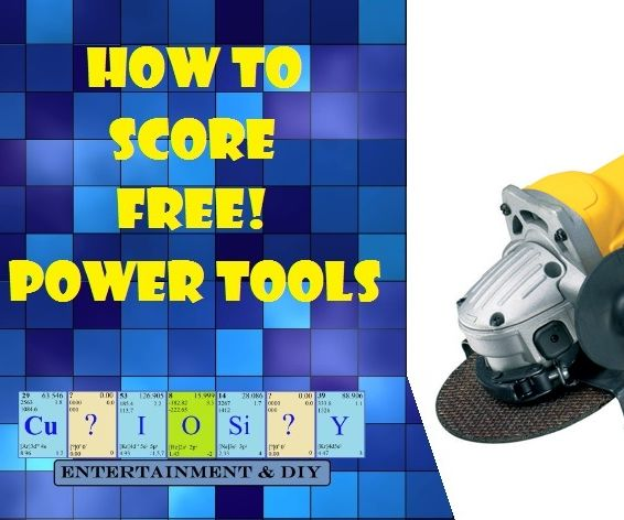 How to Score Free Power Tools