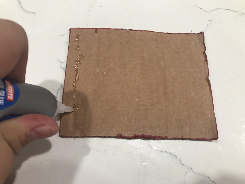 Glue Together Cardboard Parts