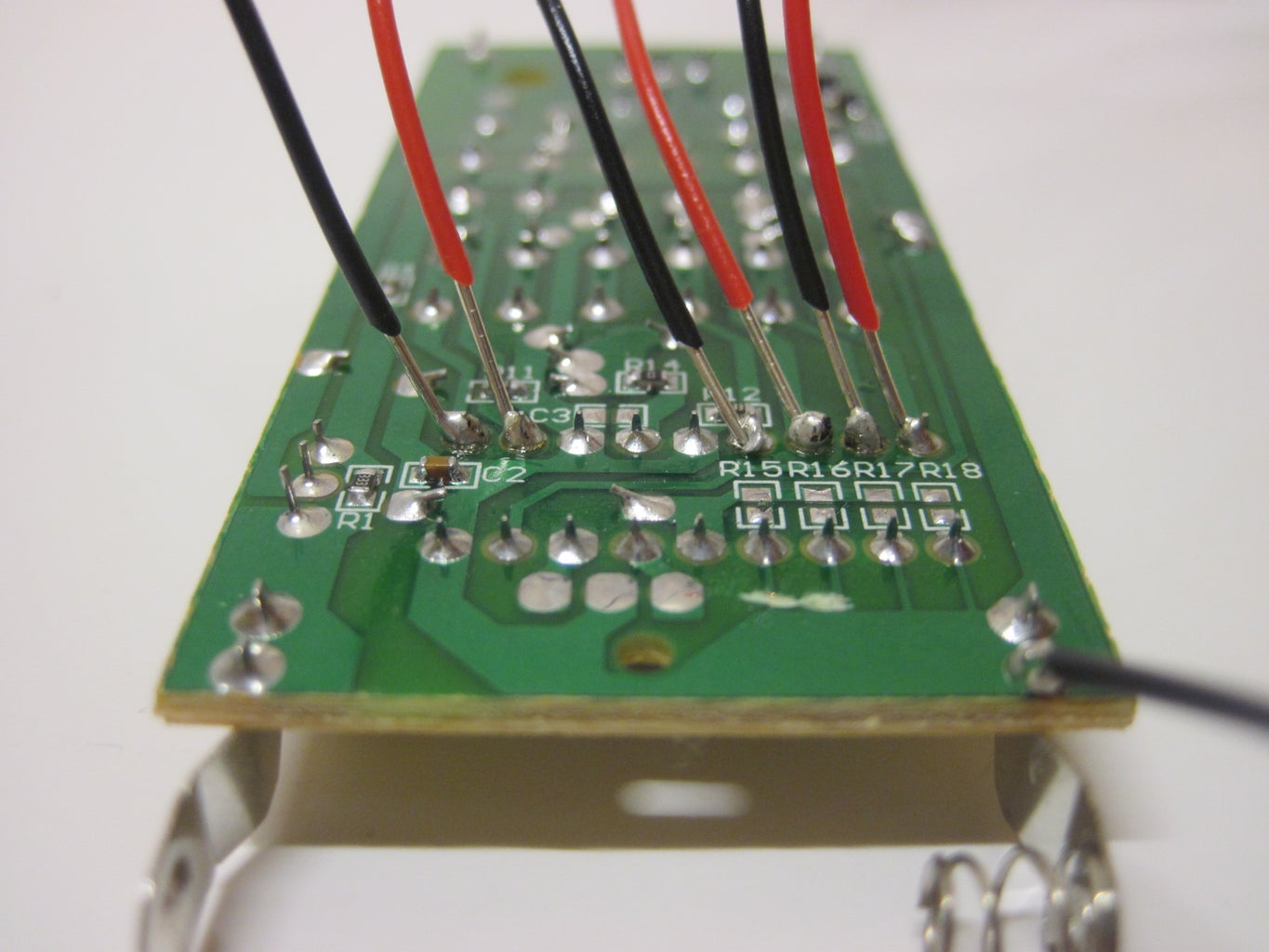 Solder Jumper Wires to the Remote
