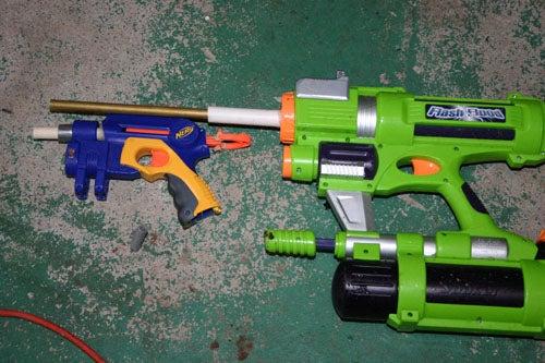 Nerf Gun Modifications.