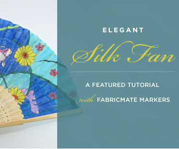 Elegant Silk Fan