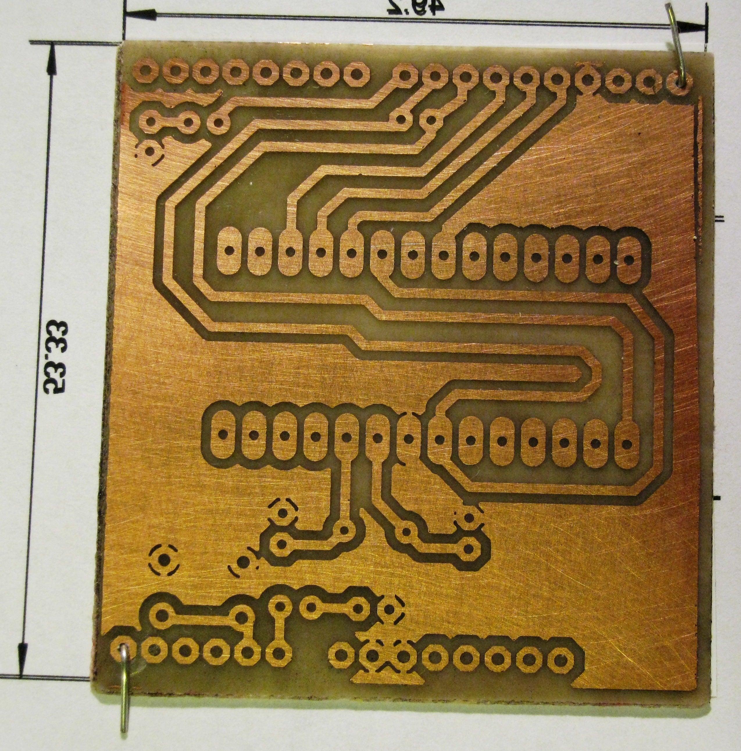 Circuit Board Sticker Vinyl Sheet Permanent