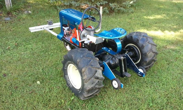 """Rebuilding a Pulling Tractor Called """"Thermal Event"""" - Part 2 of 6 - I Made It at Tech Shop!"""