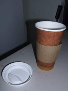 Gourmet Mushrooms in an Old Coffee Cup