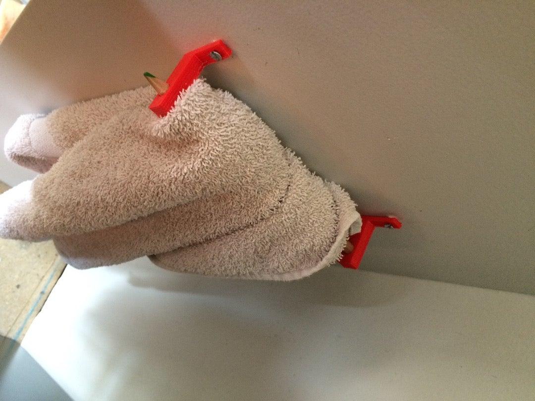 3D Print Easiest Towel Rack