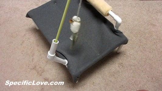 PVC Cat Hammock With Toys