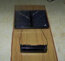Solar Powered AA Battery Charger