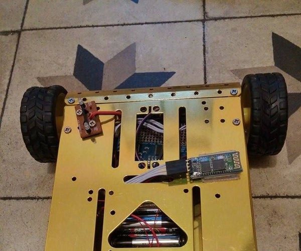 BlueDuino the Android Controlled Arduino Robot