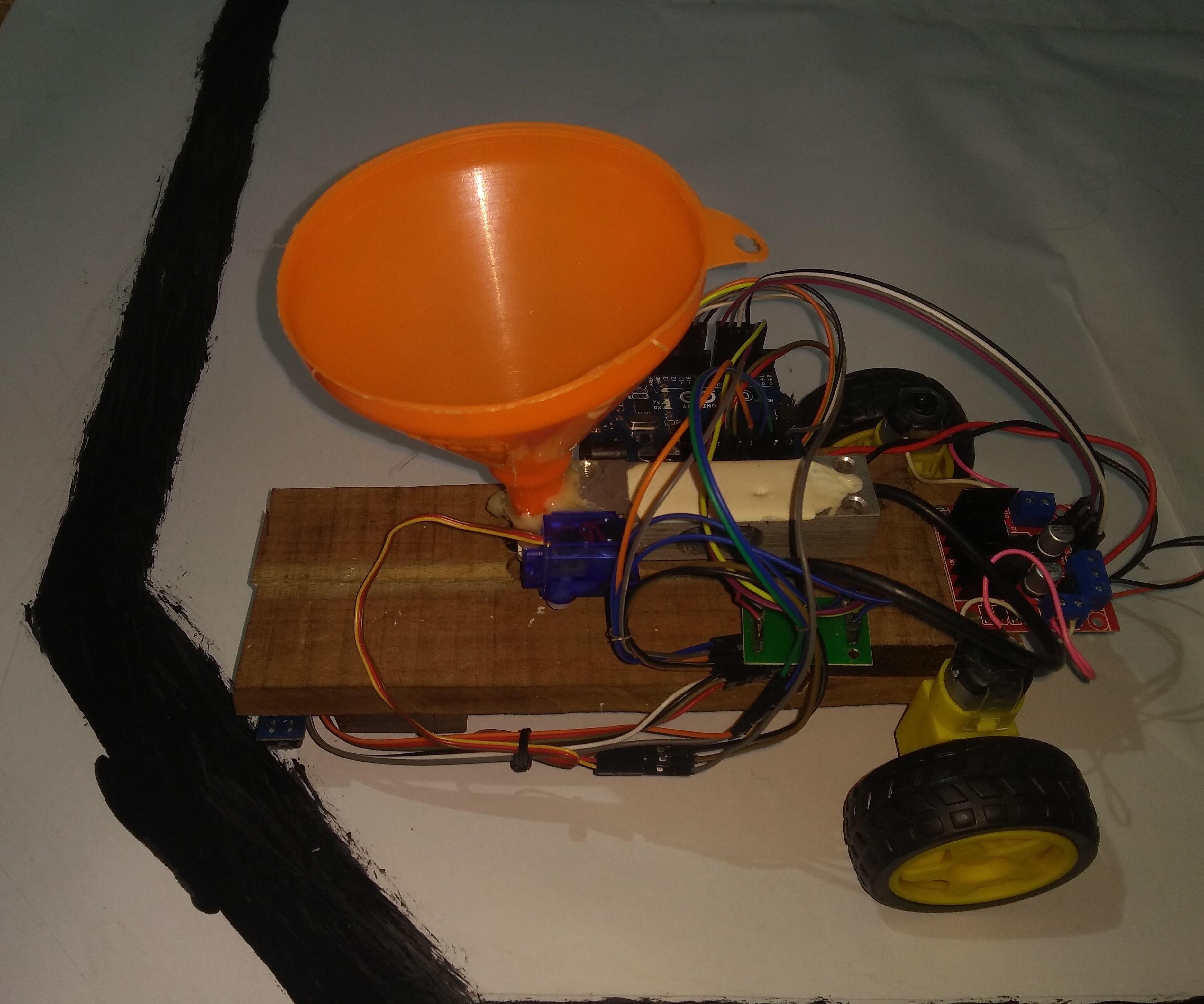 Advanced Line Follower Robot