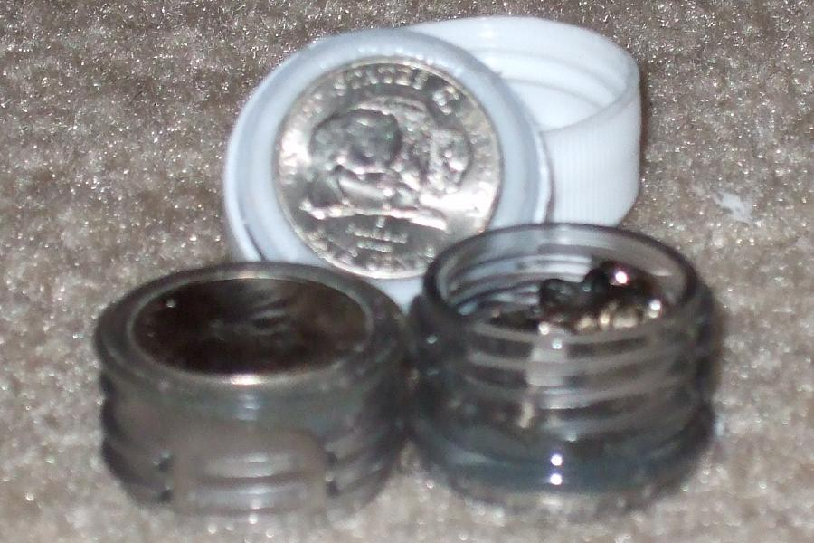 """The 5 cent """"Blistex"""" container."""