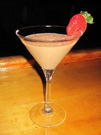 Chocolate Sex..............in a martini glass!