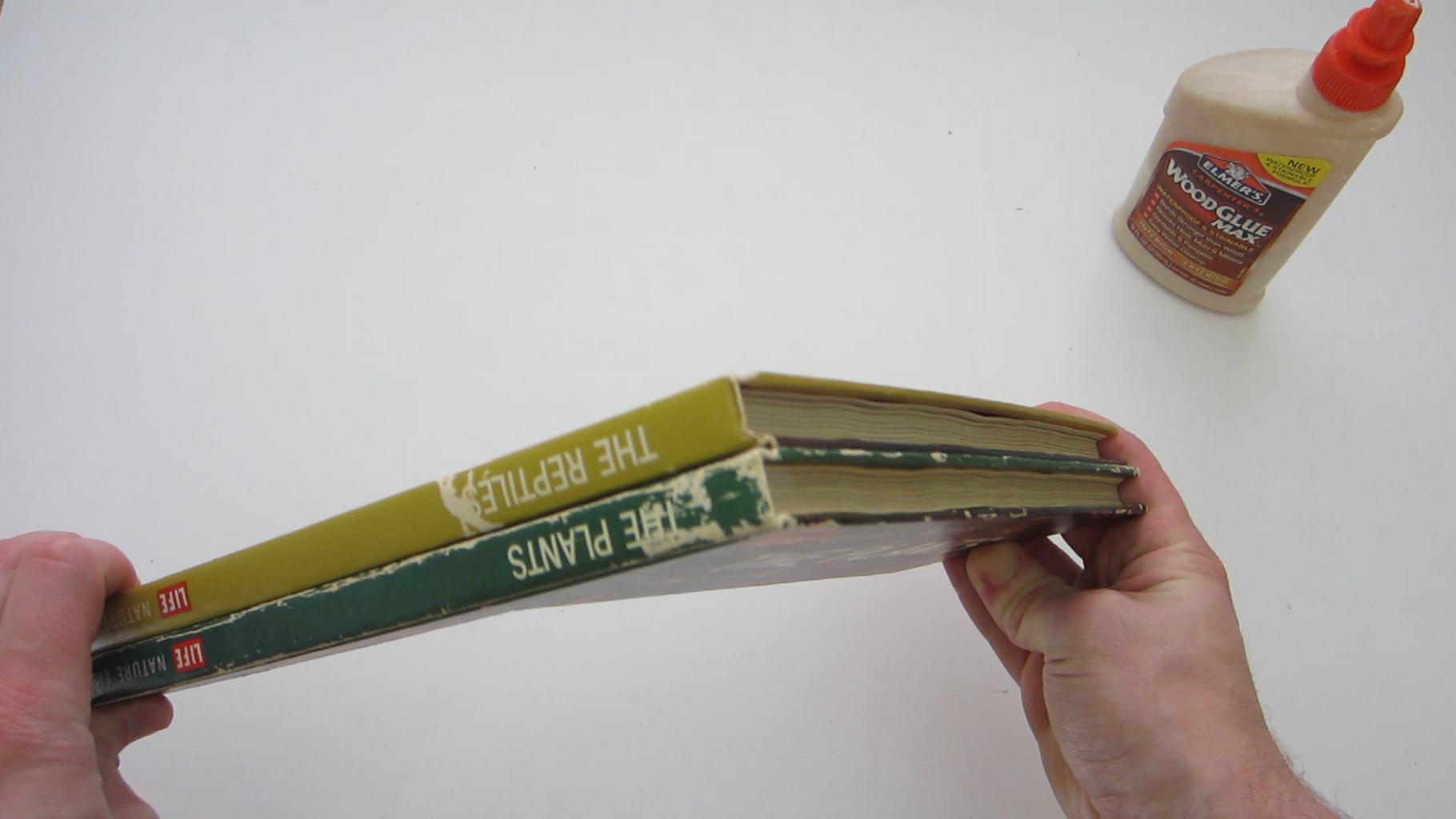Glue the Books (Optional)