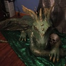 Dragon Paper Mache Sculpture