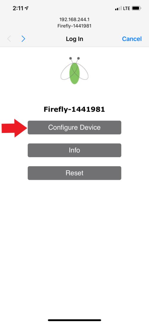 Open the Configuration Portal