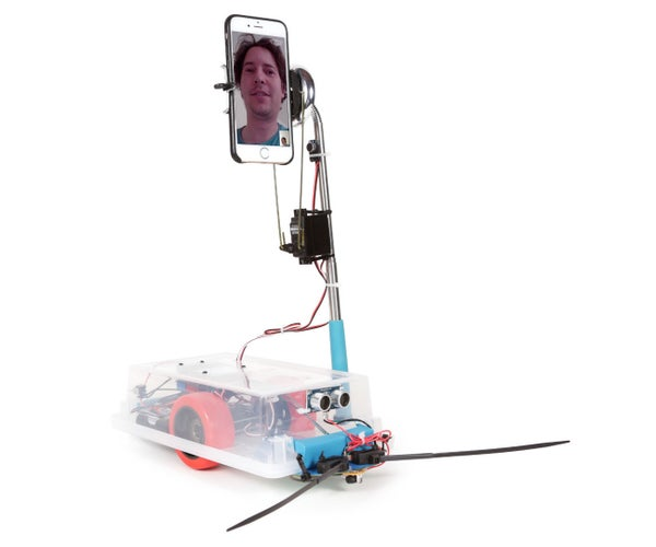 Telepresence Robot: Bringing It All Around