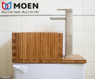 Toilet Top Sink 7 Steps With Pictures Instructables