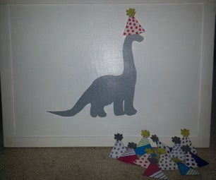 Pin the Hat on the Dino