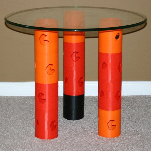 Printed Changeable End Table