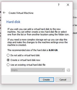 Configure Hard Disk