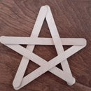 Popsicle Stick Star