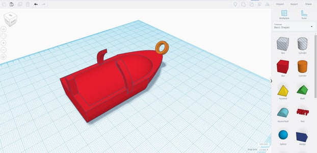 Boat Design: Part 7 - Adding Front Pull Loop