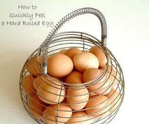 How to Quickly Peel a Perfect Hard Boiled Egg