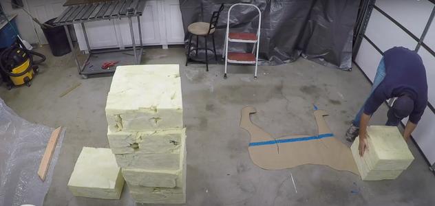 4lb. Density Polyurethane Foam