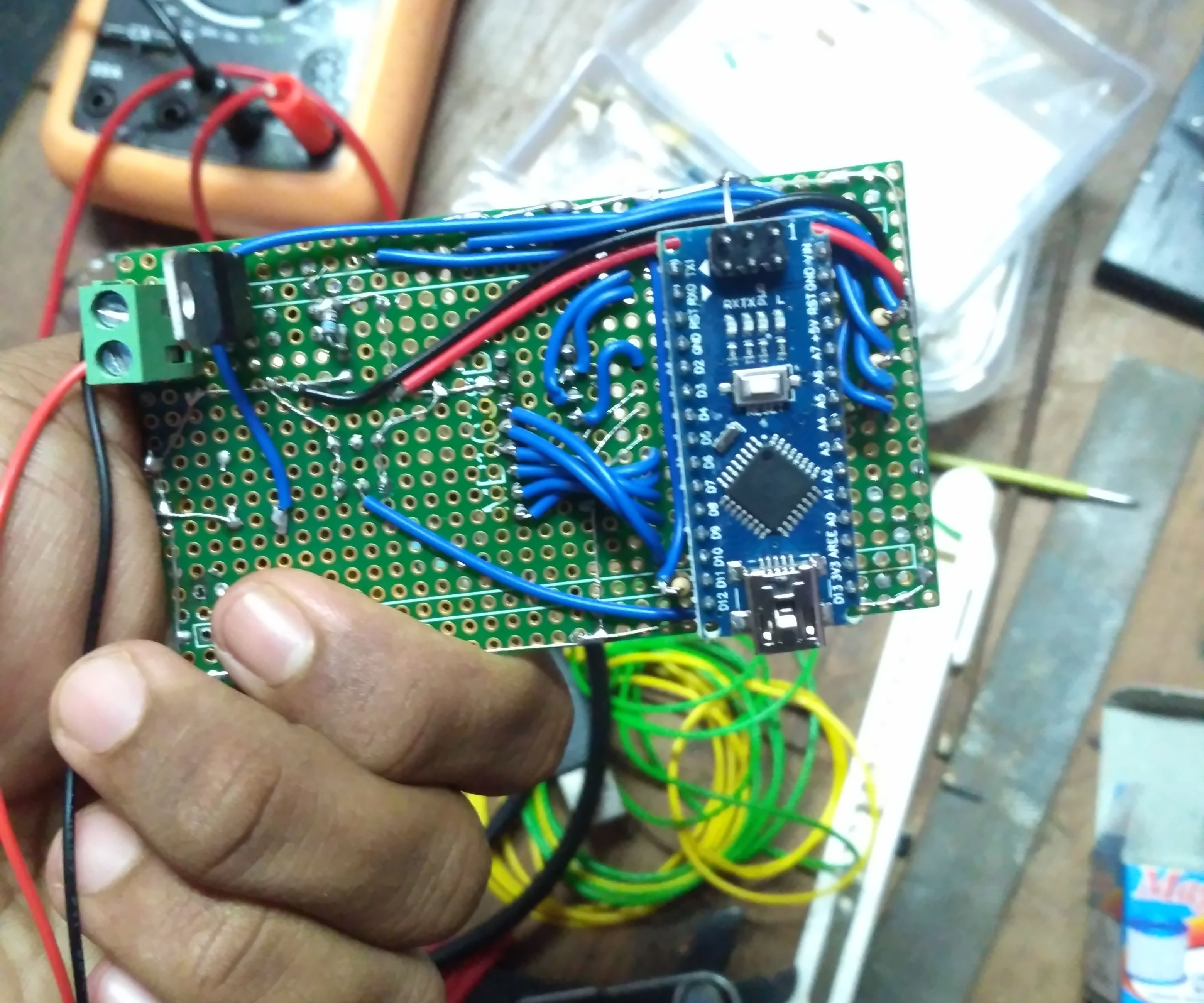 Basic IC Tester Using Arduino NANO