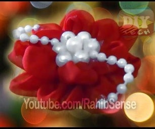 How to Make Artificial Fabric Flowers