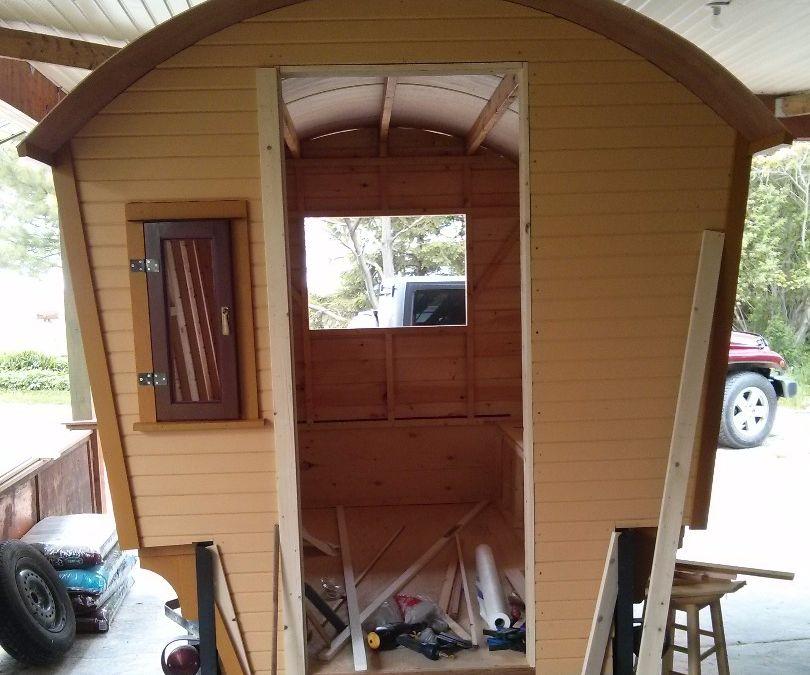 Gypsy Wagon Construction