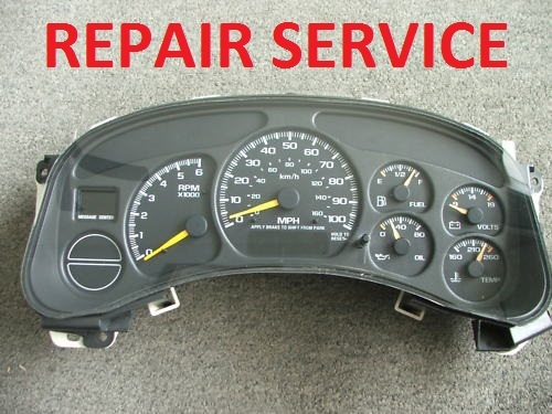 Repairing of a 1999 GMC sierra Instument Cluster (No Odometer or Gear indicator)