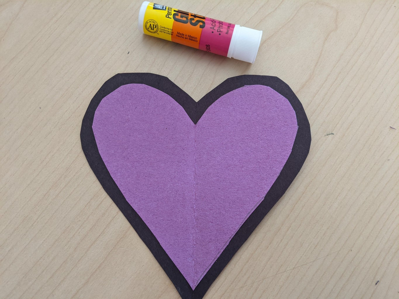 Glue the Hearts Together.